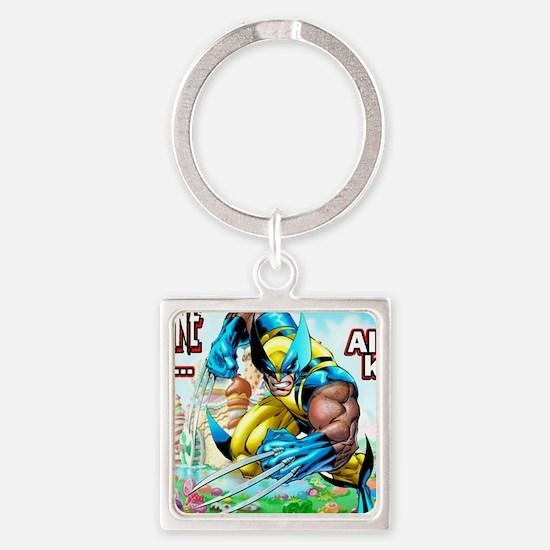Wolverine In Candyland 001 Keychains
