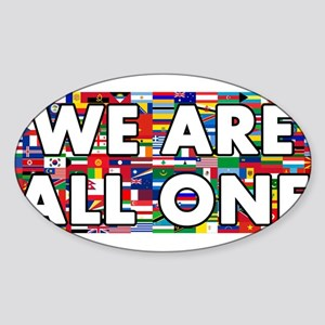 We Are All One 001 Sticker