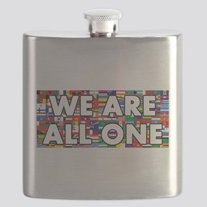 We Are All One 001 Flask