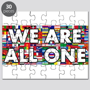We Are All One 001 Puzzle