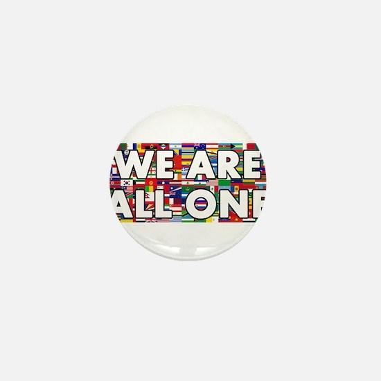 We Are All One 001 Mini Button