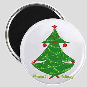 Namaste Holiday Magnets