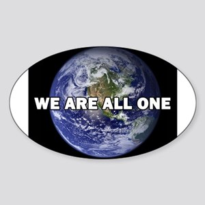 We Are All One 002 Sticker