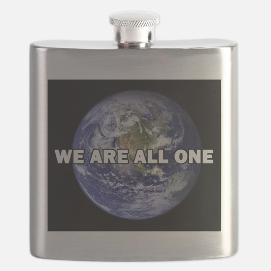 We Are All One 002 Flask