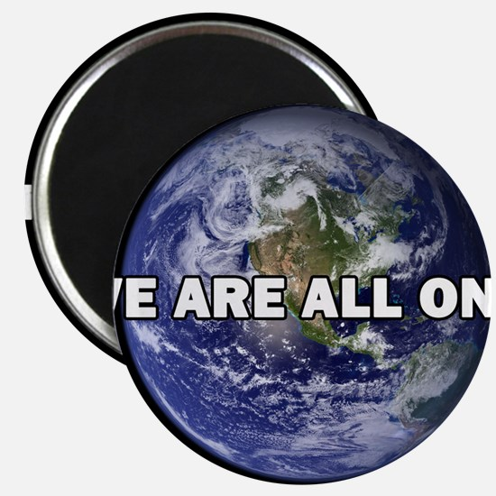 We Are All One 002 Magnets