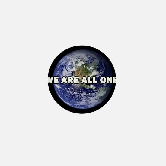 We Are All One 002 Mini Button