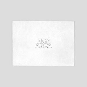 San Francisco Bay Area 010 5'x7'Area Rug