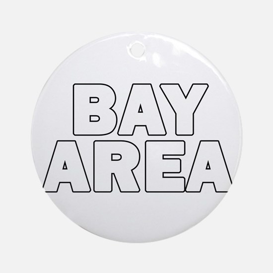 San Francisco Bay Area 010 Ornament (Round)