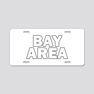 San Francisco Bay Area 010 Aluminum License Plate