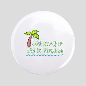 "Palm Tree 3.5"" Button"