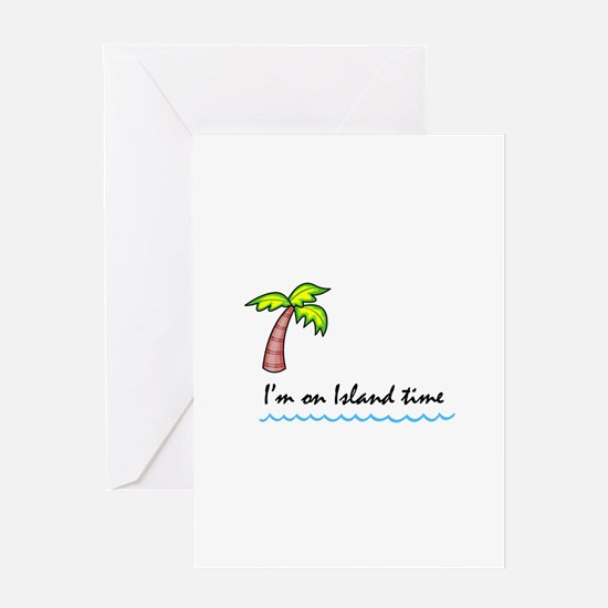 Palm Tree Greeting Cards