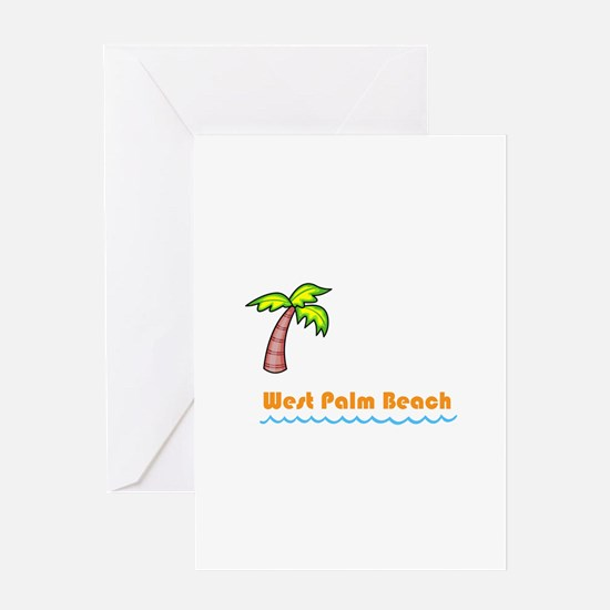 West Palm Beach Greeting Cards