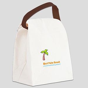 West Palm Beach Canvas Lunch Bag