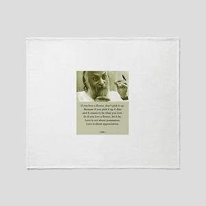 Osho 001 Throw Blanket