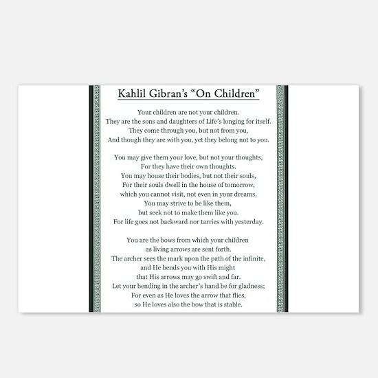 Kahlil Gibran 002 Postcards (Package of 8)