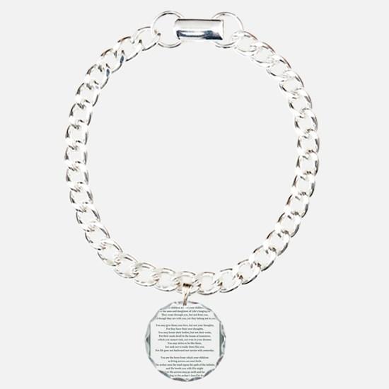 Kahlil Gibran 002 Bracelet