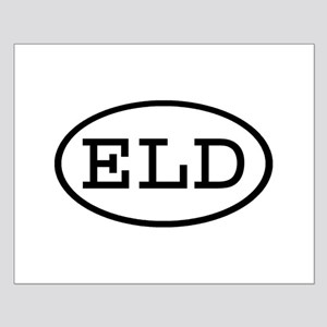 ELD Oval Small Poster