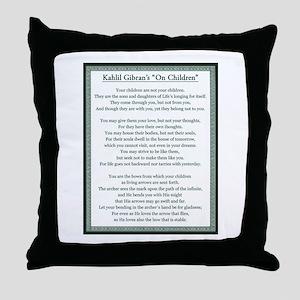 Kahlil Gibran 002 Throw Pillow