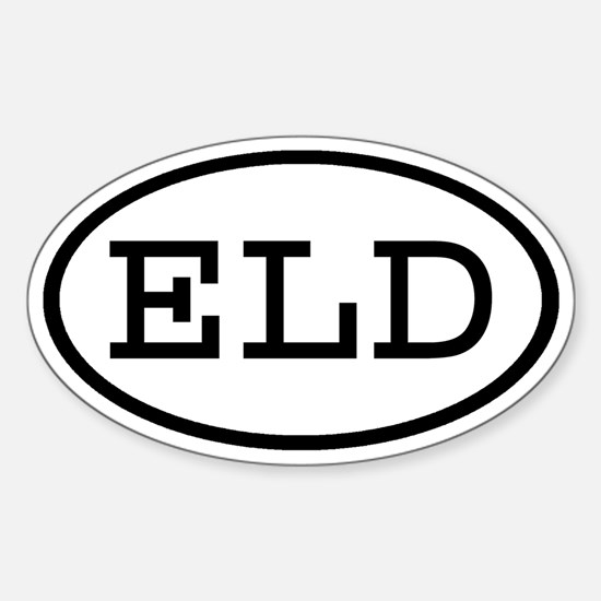 ELD Oval Oval Decal
