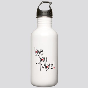 Love you more! Stainless Water Bottle 1.0L