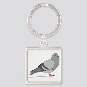 Cartoon Pigeon Keychains