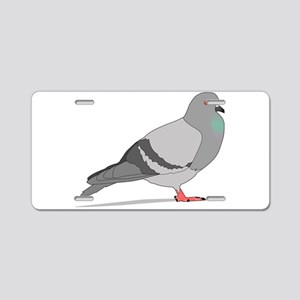 Cartoon Pigeon Aluminum License Plate