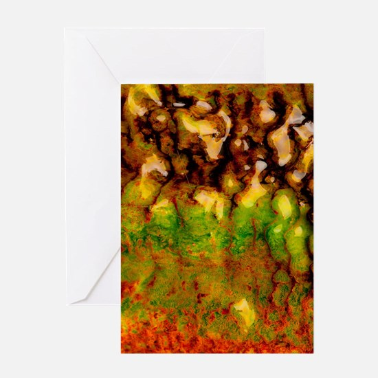 Thermal ecosystem Greeting Cards