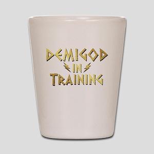 DEMIGOD in TRAINING Shot Glass