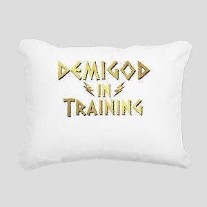 DEMIGOD in TRAINING Rectangular Canvas Pillow