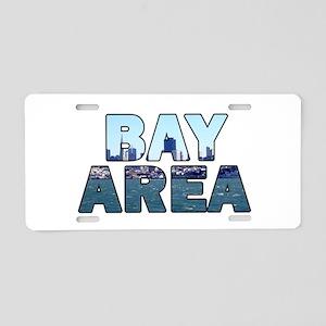 Bay Area 003 Aluminum License Plate