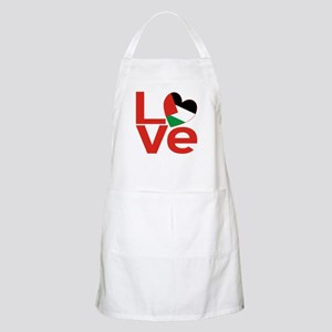 Red Palestinian LOVE Apron