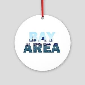 Bay Area 004 Ornament (Round)