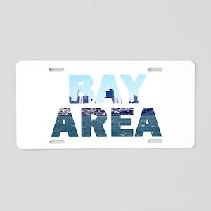 Bay Area 004 Aluminum License Plate