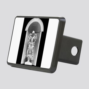 God statue Rectangular Hitch Cover