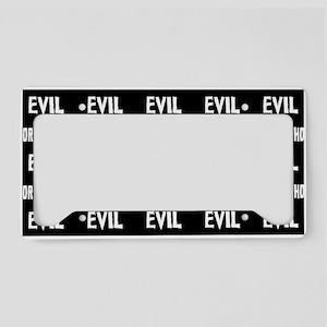 Evil Horror License Plate Holder