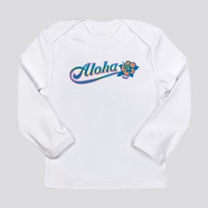 Aloha Rainbow Long Sleeve T-Shirt