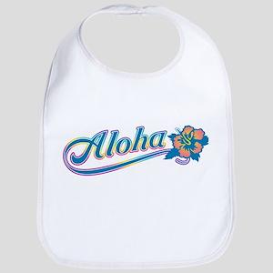Aloha Rainbow Bib
