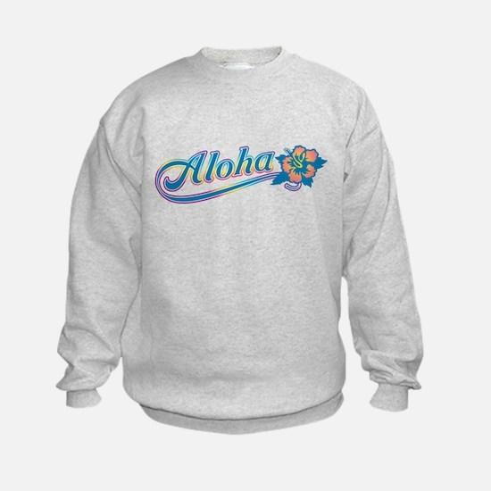 Aloha Rainbow Sweatshirt