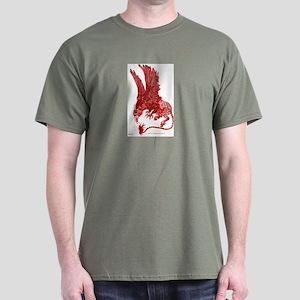 Red Ochre Hippogryph Dark T-Shirt