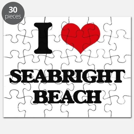 I Love Seabright Beach Puzzle