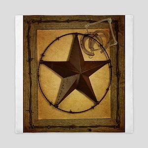 Primitive texas star Queen Duvet