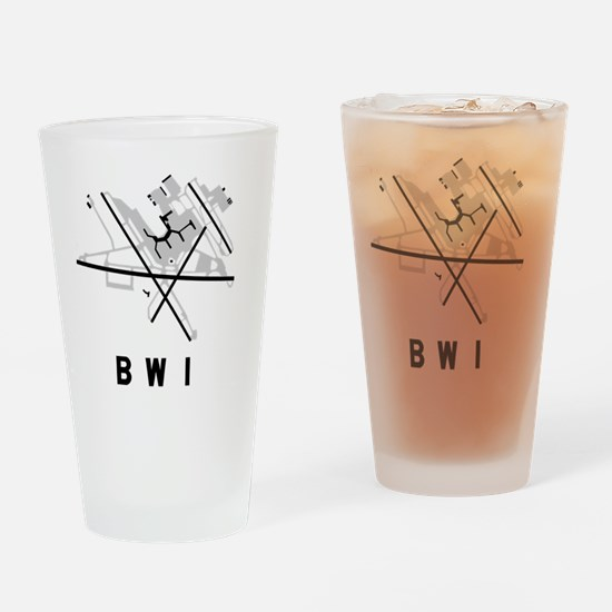 Funny Bwi Drinking Glass