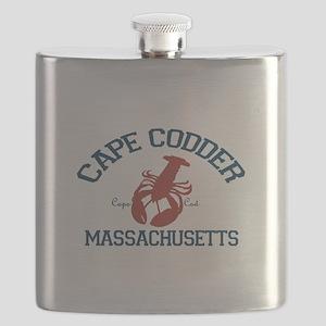 Cape Cod - Lobster Design. Flask