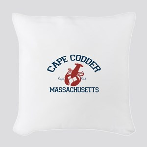 Cape Cod - Lobster Design. Woven Throw Pillow
