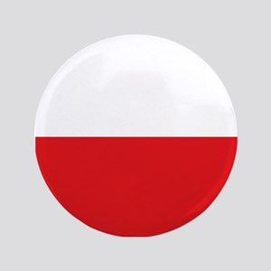 "Polish flag 3.5"" Button"