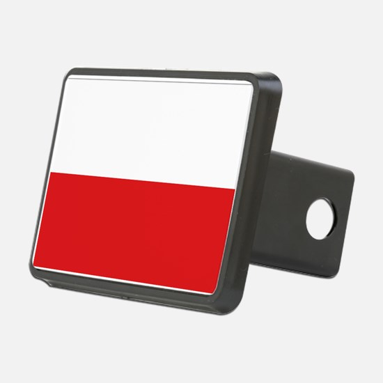 Polish flag Hitch Cover