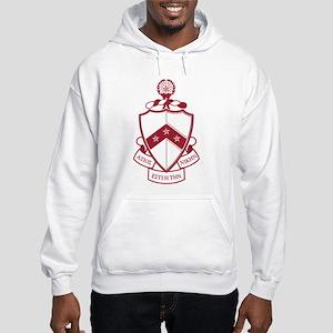 Phi Kappa Tau Crest Hooded Sweatshirt