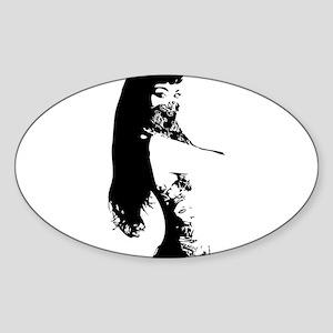 Bandana Girl Sticker