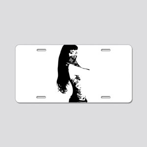 Bandana Girl Aluminum License Plate