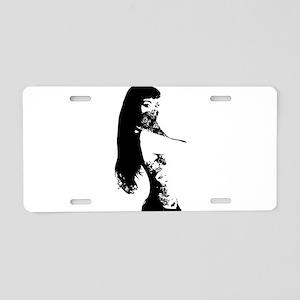 Bandana Girl Aluminum License Plate